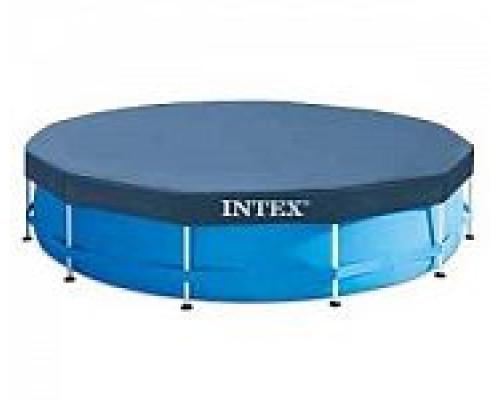 28030, Intex, Тент для каркасного бассейна Metal Frame 305см (выступ 25см)