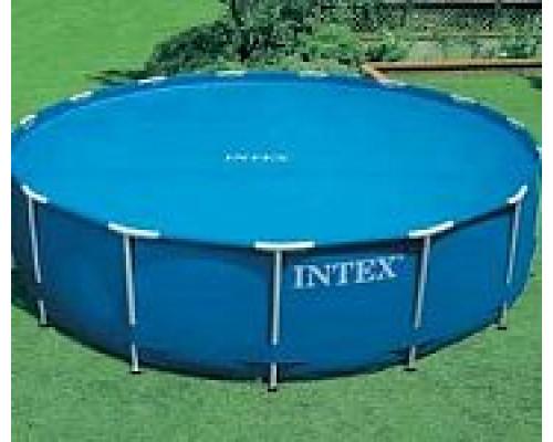 29022, Intex, Солнечное покрывало для бассейнов Easy Set и Metal Frame 366см (D348см, 120мкр (110g/m
