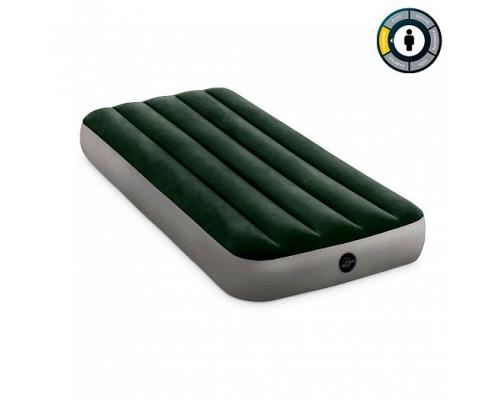 64106, Intex, Надувной матрас Prestige Downy Bed, 76х191х25см, уп.6