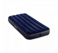 64756, Intex, Надувной матрас Classic Downy Airbed Fiber-Tech, 76х191х25см, уп.6