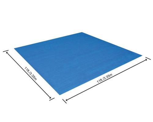 58001 BW, Bestway, Подстилка для бассейнов 335х335 см, для бассейна от 244 до 305 см, уп.4