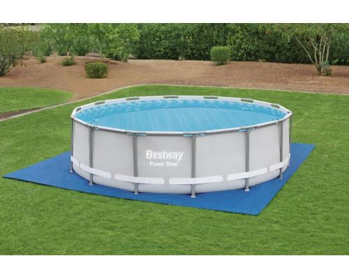 58003 BW, Bestway, Подстилка для бассейнов 488х488 см, для бассейна 457см, уп.4