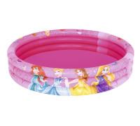 91047 BW, BestWay, Детский круглый бассейн 122х25 см, 140 л, Disney Princess, уп.12