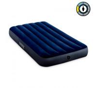 64757 Intex, Надувной матрас Classic Downy Airbed Fiber-Tech