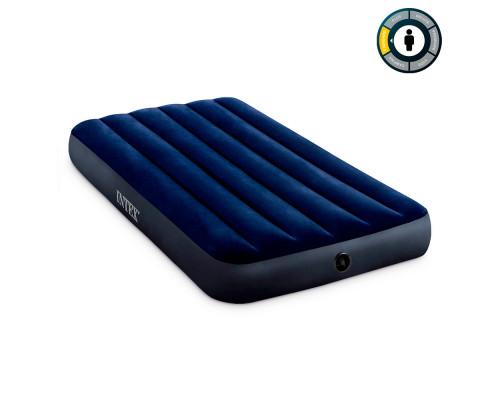 64757 Intex, Надувной матрас Classic Downy Airbed Fiber-Tech 191х99х25