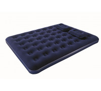 67374 Надувной матрас 152х203х22см с подушками и ручным насосом, макс. нагрузка до 215 кг