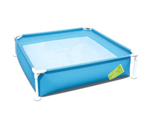 56217 BW, Bestway, Каркасный бассейн My First Pool 122х122х30,5см, 365л, от 2 лет
