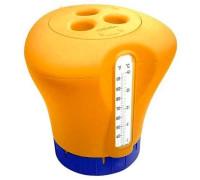 AQ17598, KOKIDO, Дозатор Kokido K619BU (табл. 75 мм) оранжевый с термометром