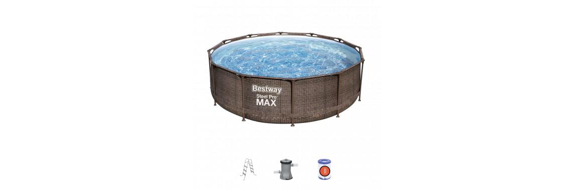 Каркасный бассейн 366х122 см, 10250л