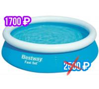 57392 BW, Bestway, Бассейн с надувным бортом 183х51см, 940л