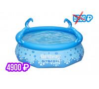 "57397 Бассейн My First Pool 274x76см ""Осьминог"" 3153л, от 3 лет"