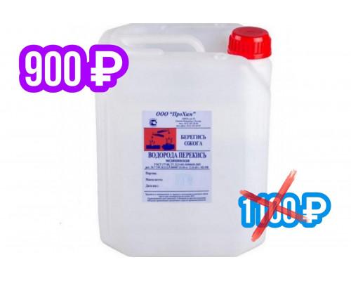 00-15 Перекись водорода медицинская, 37%, 11.4 кг, объем 10л