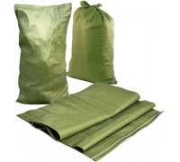 54232 Мешок п/п для строит. мусора (зеленый)